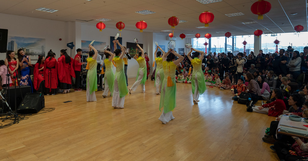 YEAR OF THE PIG - LUNAR NEW YEAR CELEBRATION AT THE CHQ IN DUBLIN [OFTEN REFERRED TO AS CHINESE NEW YEAR]-148951