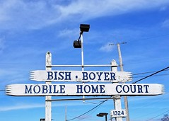 OH, Greenville-OH 49 Bish~Boyer Mobile Home Court Sign