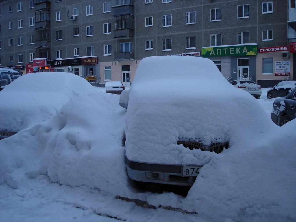 фото: После снегопада