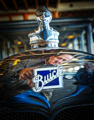 Buick (Pete Zarria) Tags: indiana buick hood ornament old car auto history gm
