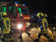 EMS and fireservice (Paramedix) Tags: fireservice feuerwehr rettungsdienst ems unfall accident drk oberndorf germany deutschland badenwürttemberg medics übung exercise