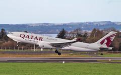 qatar cargo a330-243f a7-afz dep shannon for doha 20/2/19. (FQ350BB (brian buckley)) Tags: qatarcargo a330243f einn horses a7afz