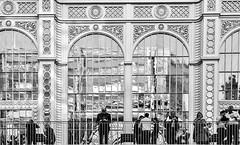 IMG_1130108 (Kathi Huidobro) Tags: londonarchitecture reflections interval blackwhite bw glazed monochrome balcony conservatory facade stantonwilliams royaloperahouse london architecture