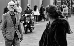 Life in monochrome (zilverbat.) Tags: candid streetcandid streetphotography streetportrait timelife urbanlife zilverbat candidphotography people peopleinthecity peopleinthestreet urban grotemarktstraat portrait portret peopleofthehague blackwhitephotos mono monochrome noir black blackandwhite zwartwit zwartwitfotografie bokeh dutch denhaag dof citylife city stadt magnum