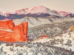 Majesty and Strength... (Colorado Scenics) Tags: m30500356789fusionnatural2 olympusomdem5 olympusem5 olympusmzuiko40150mmlens pikespeak coloradospringsco elpasocountycolorado pikespeaksunrise 5exposurehdr