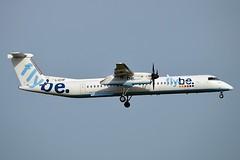 Flybe G-ECOF De Havilland Canada DHC-8-402Q Dash 8 cn/4216 @ Zwanenburgbaan EHAM / AMS 07-04-2018 (Nabil Molinari Photography) Tags: flybe gecof de havilland canada dhc8402q dash 8 cn4216 zwanenburgbaan eham ams 07042018