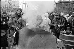 (Igor Baranchuk) Tags: rangefinder 35mm москва масленица street analog film zeissikon smoke