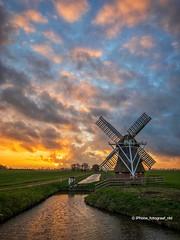 Witte Lam (iPhone Fotograaf) Tags: clouds evening landscape sun light sunset iphone8plus dutch sky mill windmill