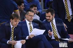 DSC_0235 (VAVEL España (www.vavel.com)) Tags: fcb barcelona barça basket baloncesto canasta palau blaugrana euroliga granca amarillo azulgrana canarias culé
