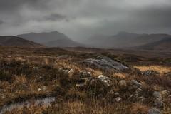Wet and Wild (yabberdab) Tags: hills rainy scotland