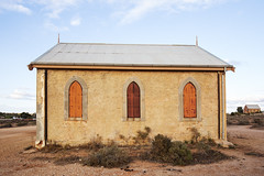 Methodist Church (1885): Side View (oz_lightning) Tags: australia canon6d canonef1635mmf4lis nsw silverton westerndivision architecture building church decay history patterns townscape newsouthwales aus