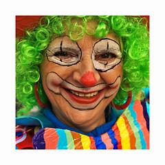 Calvacade Colmar_3604 -1 (jeanmichelchristian) Tags: alsace colmar portrait femme senior cavalcade déguisement fête clown