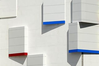 Did you notice that lately the parking garages are becoming more and more creative?
