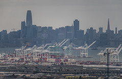 westport at the port of oakland (pbo31) Tags: mountainview oakland california eastbay alamedacounty city color nikon d810 march 2019 boury pbo31 over view sanfrancisco baybridge 80 skyline rain wet port harbor ship container sail salesforce upper rockridge