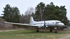 Ilyushin Il-14 / VEB-14PS c/n 14803035 East Germany Air Force serial 482 (Erwin's photo's) Tags: finow museum germany luftfahrtmuseum finowfurt museumsstrase 1 16244 schorfheide duitsland preserved aircraft ddr nva aviation ilyushin il14 veb14ps cn 14803035 east air force serial 482