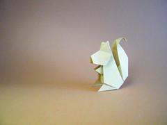 Squirrel - Jun Maekawa (Rui.Roda) Tags: origami papiroflexia papierfalten écureuil ardilla esquilo squirrel jun maekawa