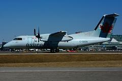 C-GION (Air Canada express - JAZZ) (Steelhead 2010) Tags: aircanada aircanadaexpress jazz dehavillandcanada dhc8 dhc8100 dash8 yyz creg cgion