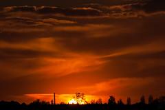 Sunset / @ 300 mm / 2019-04-10 (astrofreak81) Tags: explore clouds shadow schatten sunset sun wolken sonnenuntergang sonne sky himmel heaven light dawn orangesky orange dresden 20190410 astrofreak81 sylviomüller sylvio müller
