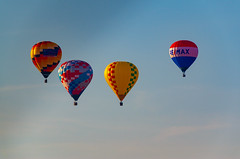 The Gang (subrec) Tags: lakeland florida hot air balloons sunnfun sun n fun international flyin expo colorfulskies colorfulsky colorful color tampabay tampabayarea tampa orlando airshow pentaxk50 pentax pentaxart bluesky