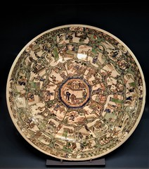 Residenz porcelain (SM Tham) Tags: europe germany bavaria munich residenz palace museum collection chinese porcelain plate display