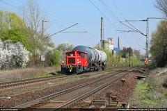 Städtische Häfen Hannover F22 (ex DB 335 082, Köf III) in Misburg #6191 (146 106) Tags: bahn güterzug lokomotive lok locomotive diesel köfiii 335082 städtische häfen hannover f22 misburg hmi ef24105mmf4lisusm 5dmarkiii