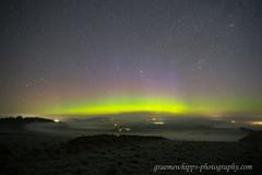 Above the mist (quayman) Tags: aurora northernlights merrydancers sky night mist fog