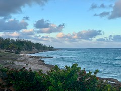 "Up the bluff in Barbados (mikeginn12000) Tags: ""atlanticshores"" ""christchurch"" barbados waves canon beautiful coast beach ocean"