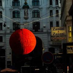 Red Dot (Petri Juhana) Tags: wien vienna austria lumix tourism travel strange colours digital