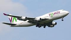 IMG_6116 EC-KXN (biggles7474) Tags: egkk lgw london gatwick airport eckxn b744 boeing b7474h6 jumbo jet wamos air