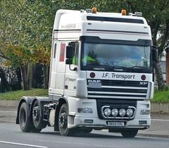 JF Transport Ltd DAF XF480 DK55 EKL (sab89) Tags: hgv trucks truck lorry lorries jf transport ltd daf xf480 dk55 ekl
