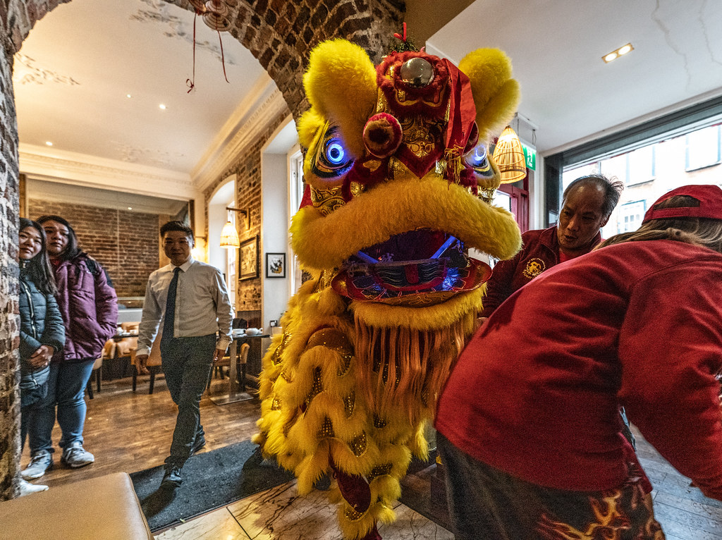 I WAS INVITED TO THE LUNAR NEW YEAR CELEBRATION AT MR. DINH ON CAPEL STREET [ THE YEAR OF THE PIG]-148738