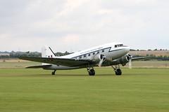 G-AMPY Duxford 07/09/08 (Andy Vass Aviation) Tags: duxford dc3 gampy royalairforce kk116