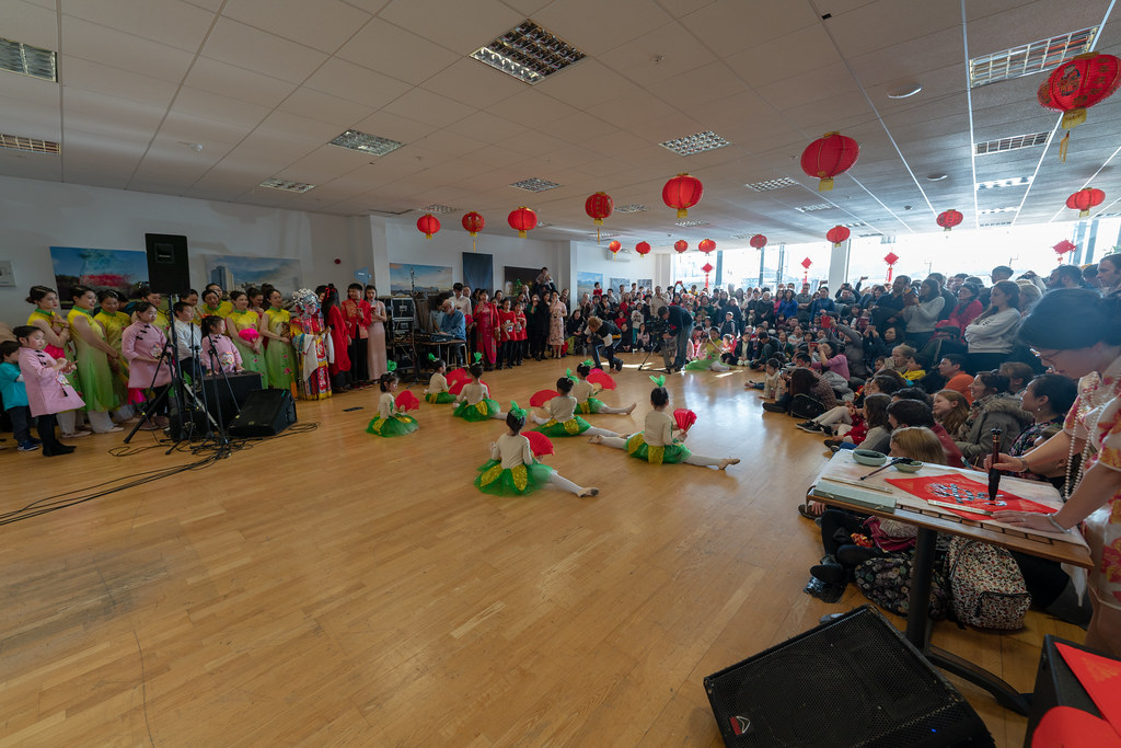 YEAR OF THE PIG - LUNAR NEW YEAR CELEBRATION AT THE CHQ IN DUBLIN [OFTEN REFERRED TO AS CHINESE NEW YEAR]-148919