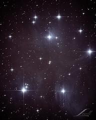 A peek into the Pleiades (j.lowell.w) Tags: pleiades astro astrophoto deepspace space telescope