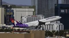N370HA_LAS_Takeoff_1R (MAB757200) Tags: hawaiianairlines a330243 n370ha aircraft airplane airlines airbus airport jetliner las klas takeoff runway1r