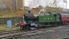 Loco 4270 GWR at ELR. (Gerry Hat Trick) Tags: loco steam locomotive gwr elr east lancs railway bury bolton street north castlefield green 4270 280