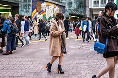 I'm Not Sick, I Did My Makeup, I'm Not Wanted By The Police, I Think It's Stylish (burnt dirt) Tags: asian japan tokyo shibuya station streetphotography documentary candid portrait fujifilm xt1 bw blackandwhite laugh smile cute sexy latina young girl woman japanese korean thai dress skirt shorts jeans jacket leather pants boots heels stilettos bra stockings tights yogapants leggings couple lovers friends longhair shorthair ponytail cellphone glasses sunglasses blonde brunette redhead tattoo model train bus busstation metro city town downtown sidewalk pretty beautiful selfie fashion pregnant sweater people person costume cosplay boobs