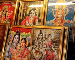 beauty contest (kexi) Tags: kolkata india asia deities pictures red orange gold canon february 2017 frames display instantfave