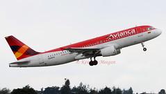 N345AV (Ken Meegan) Tags: n345av airbusa320214 4345 avianca bogota 30102014 airbusa320 airbus a320214 a320