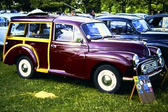 Morris 1000 Traveller in an excellent condition...especially the woodwork (rossendale2016) Tags: colour color burgundy polished polish gloss finish paintworth paint immaculate maroon back especially condition excellent woodwork traveller 1000 morris