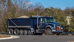 Mack Granite (NoVa Truck & Transport Photos) Tags: mack granite dump truck stone center manassas va vocational big rig