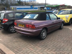 Ford Escort Calypso Convertible (VAGDave) Tags: ford escort calypso convertible 1997