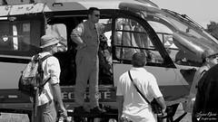 F-ZBPK - Eurocopter EC 145 (Laurent Quérité) Tags: canonfrance canoneos7d canonef100400mmf4556lisusm noirblanc blackwhite aviation aéronef helicoptere portrait pilote homme man meetingaérien airshow sécuritécivile valencechabeuil lflu france fzbpk eurocopter ec145