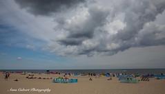 Beach in Poland (Anna Calvert Photography) Tags: poland polska beach balticsea europe people landscape nature clouds summer outdoors