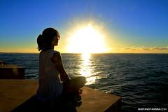 Zen Meditation.jpg (gtaveira) Tags: sun portrait beach sunset people zen sky filter blue thinking 7d meditation cairu bahia brazil br