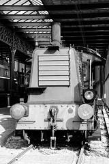 NS 311 (1940) (just.Luc) Tags: metal metaal locomotief locomotive bn nb zw monochroom monotone monochrome bw utrecht holland nederland paysbas niederlande netherlands museum museo musée museet europa europe spoorwegmuseum