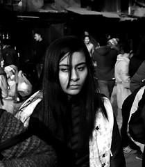 Kathmandu (wojofoto) Tags: kathmandu nepal straatfoto streetphoto streetlife people mensen zwartwit schwarzweiss monochrome blackandwhite wojofoto wolfgangjosten candid woman
