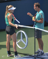 Eugenie Bouchard (Carine06) Tags: tennis usopen 2018 flushingmeadows corona newyork practice kt20180826246 eugeniebouchard geniebouchard