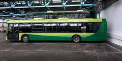 Southern Vectis Scania OmniCity bodied Scania N230UB HF58HTO in Newport Depot 26 January 2019 (IslandYorkie) Tags: buses busesinthesouthofengland busesontheisleofwight singledeckers scaniabuses scaniabody scanian230ub scaniaomnicity hf58hto 2007 southernvectis svoc goaheadgroup gosouthcoast newport isleofwight