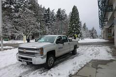 2015 Chevrolet  Silverado K3500 HD (D70) Tags: 2015 chevrolet silverado k3500 hd patterson skytrain station winter snow burnaby britishcolumbia canada centralpark